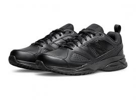New Balance 624v4 Men's Walking Shoes - BLACK