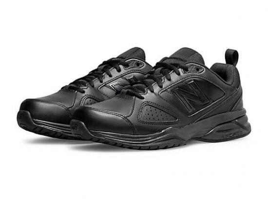 New Balance 624v5 Men's Walking Shoes - BLACK