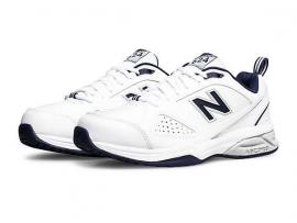 New Balance 624v5 Men's Walking Shoes - WHITE