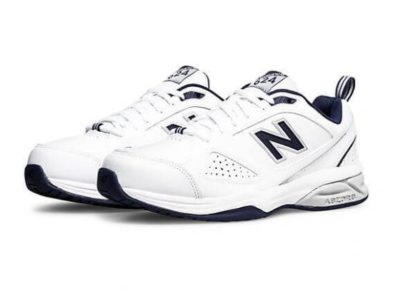 New Balance 624v4 Men's Walking Shoes - WHITE