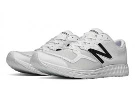 New Balance 1980 Fresh Foam Zante Men's Running Shoes - WHITE / WHITE / BLACK