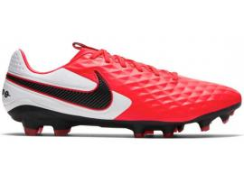Nike Tiempo Legend 8 Pro FG Football Boots - LASER CRIMSON / BLACK / WHITE