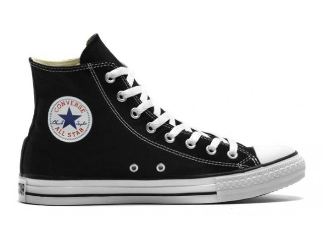 abfb96e43b9f Converse Chuck Taylor - All Star Hi BLACK  Discounted