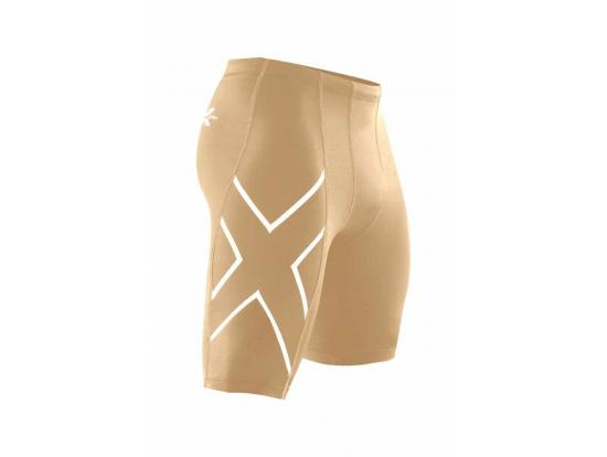 2XU Men's Compression Shorts - Beige