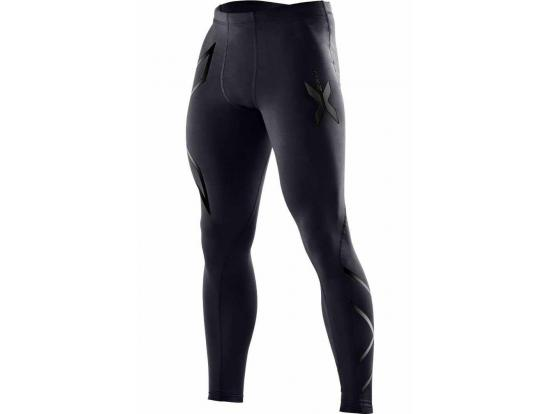 2XU Men's Compression Tights - Black / Nero, MA3849B