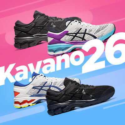 ASICS Kayano 26 Mens and Womens